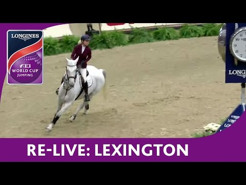 Re-Live - NAL - Longines FEI World Cup™ Jumping - Lexington - The Dobbs Family