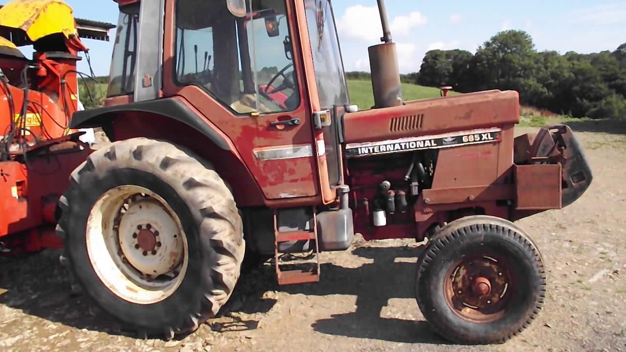 1982 Case Tractors : Hepwell farm case international xl wd tractor