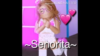 Senorita-A Royal High Music Video-ROBLOX-Enjoy!-Read Desc-💜