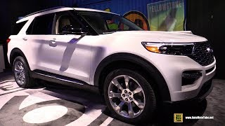 2020 Ford Explorer - Exterior and Interior Walkaround - Debut at Detroit Auto Show 2019