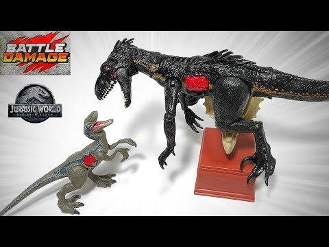 New Indoraptor Ultimate Battle Playset! Jurassic World Fallen Kingdom Toys for Kids