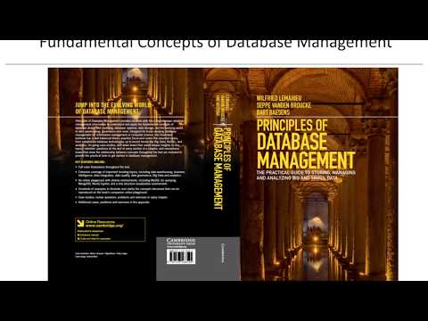 Chapter 1 Fundamental Concepts of Database Management