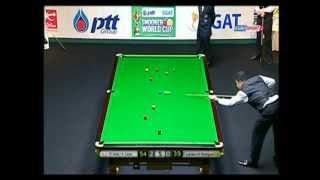Brasil x England  PTT EGAT Snooker World Cup 2011