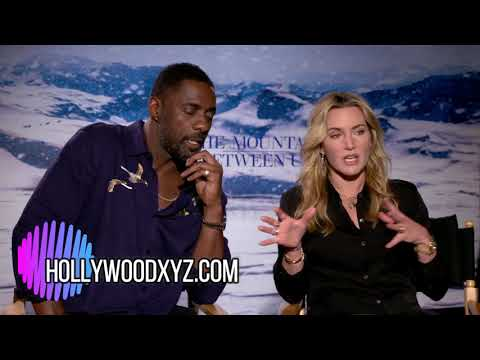 Idris Elba & Kate Winslet Full Interview The Mountain Between Us