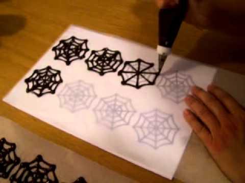 Como hacer una telara a de chocolate youtube - Como hacer tela de arana ...