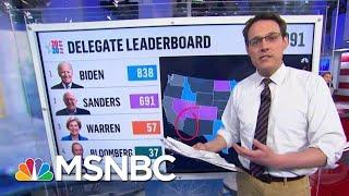 Steve Kornacki Charts Bernie Sanders' Difficult Path For Delegates   Mtp Daily   Msnbc