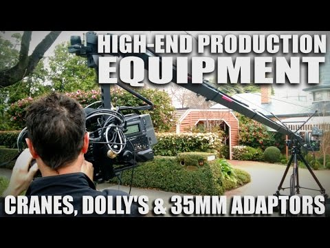 Video Tips & tricks - Using High End Production Equipment CRANES-DOLLIES--35mm-LENS