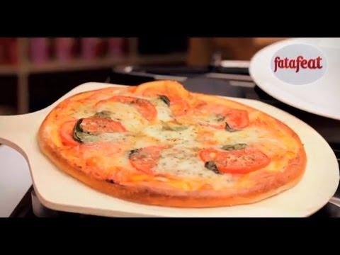 صورة  طريقة عمل البيتزا درس: تحضير عجين البيتزا وعمل البيتزا - 100 مكرونة - فتافيت طريقة عمل البيتزا من يوتيوب