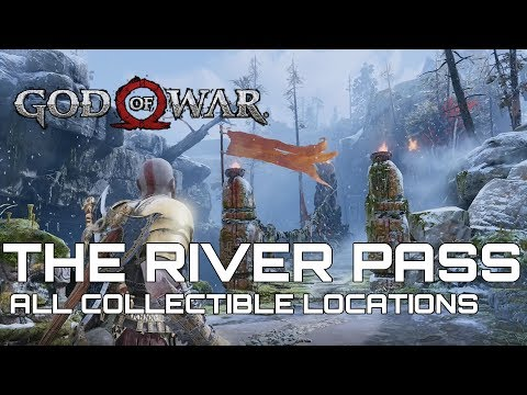 God Of War 100% Collectible Guide THE RIVER PASS
