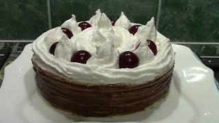 Как сделать вафельный торт. Простой недорогой рецепт