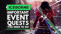 Monster Hunter World Iceborne | Most Important Event Quests You Need to Do in Full Bloom Festival