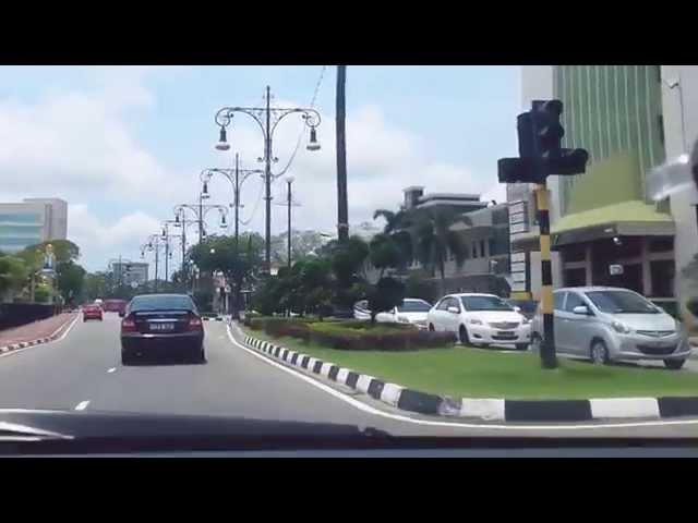 Around Bandar Seri Begawan CBD area, Brunei Darussalam
