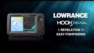 Lowrance Hook Reveal - A Revelation in Easy Fish Finding - Launch UK