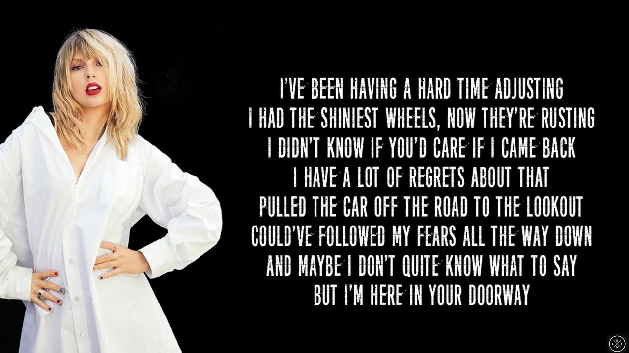 Taylor Swift - THIS IS ME TRYING (Lyrics) - YouTube
