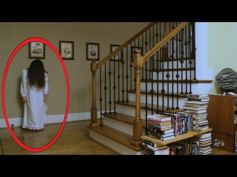 Real Ghost Caught on video (The Haunting...