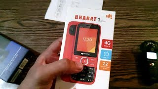Micromax Bharat 1 V409 (2018) Unboxing & Overview