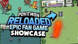 Pokémon Reloaded - Fan Game Showcase/Review (REAL TIME BATTLE AWESOME FAN GAME!?)