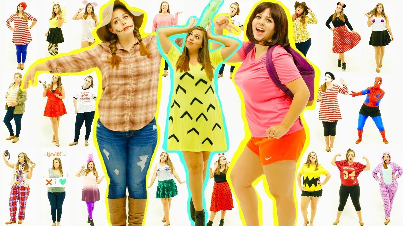 Attractive 25 Last Minute DIY Halloween Costumes! Easy Halloween Costume Ideas For  Girls!