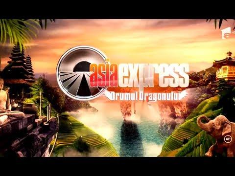 Asia Express este acum LIVE pe Youtube!