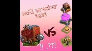 HALL 12 WAR  .WALL WRECKER TEST ( khám phá sức mạnh cổ máy công thành)...