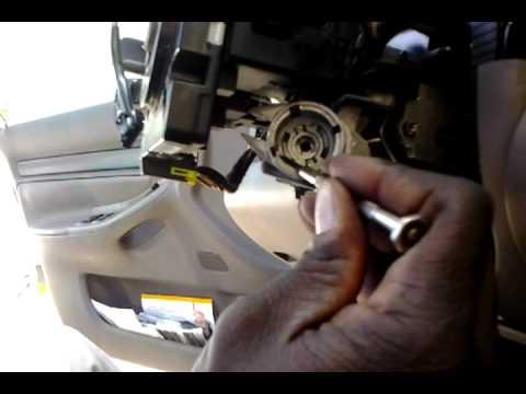 Audi A4 ignition switch & key lock  YouTube