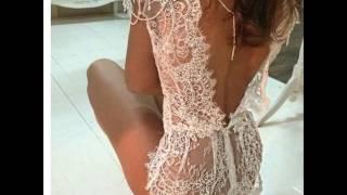 Moda 2018 Fashion 2017 Youth dresses dress flower lenceria sexi