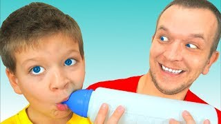 Макс и песенка Rock a Bye Baby | Колыбельная Песня для Малышей | Песни для детей