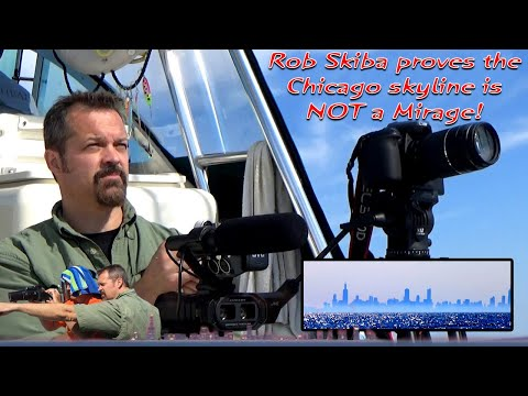 Rob Skiba proves the Chicago skyline (as seen from the other side) is NOT a mirage