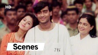 Ajay Devgn Scenes from KANOON | Urmila Matondkar | Best Bollywood Action Movie