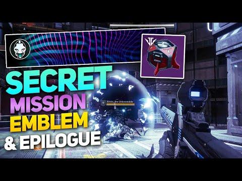Obsidian Dreams Emblem Solo Guide & Secret Niobe Labs Mission / Epilogue! (Destiny 2 Black Armory)