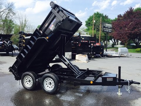 Load Trail Dump 5x10' Low Profile 7000# GVW 717-220-4220 Best Choice Trailers