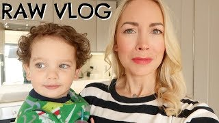 RAW  VLOG AND RANT ABOUT CHORES  AD     EMILY NORRIS DAY IN THE LIFE VLOG