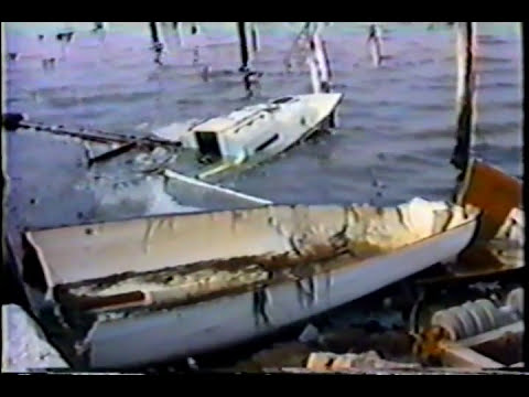 Hurricane Bob Strikes - Major Hurricane Hits SouthCoast MA 1991