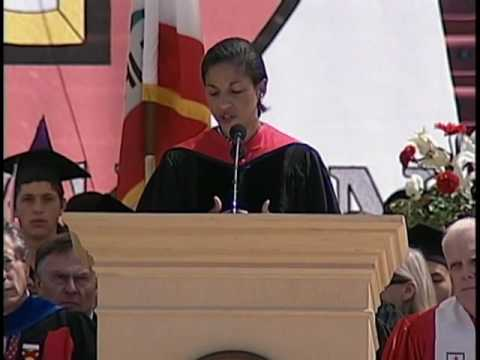 Susan Rice's 2010 Commencement Address