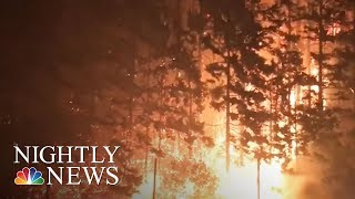 Firefighters Struggle To Contain Explosion Of Wildfires Across West | NBC Nightly News