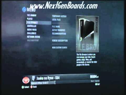 Halo Reach Credits Glitch (Fast Rank Up)