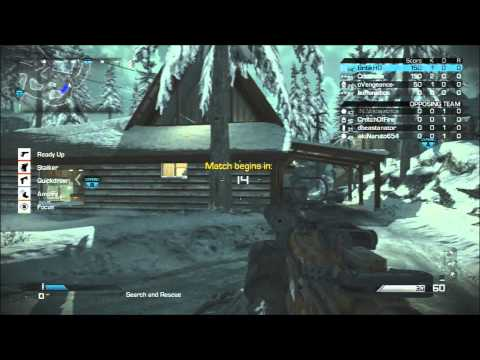 Call of Duty Ghosts: Best Search and Rescue Class and Strategy (Clan vs Clan Gameplay)