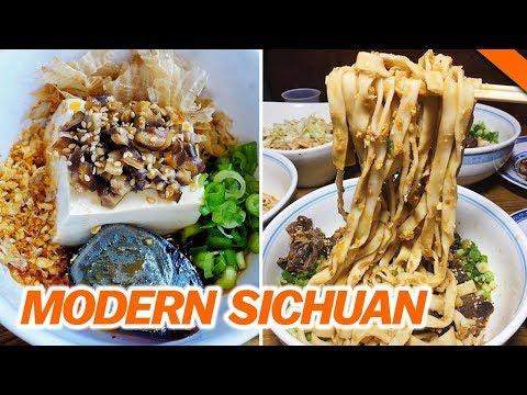MODERN SICHUAN FOOD w/ CHINESE RAPPER BOHAN // Fung Bros Food