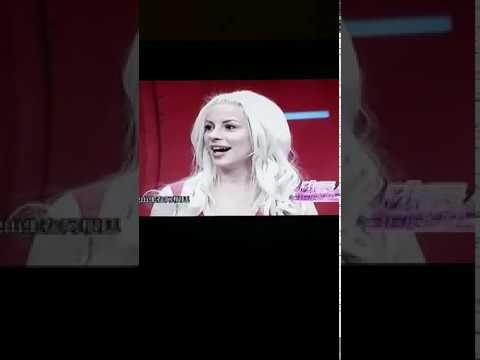 Daniela Bessia 安达 (BDaniela) guest at Shanghai TV - China🇨🇳