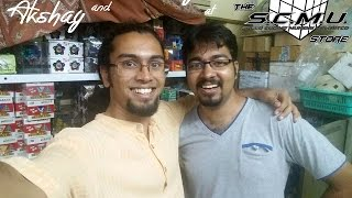 At The SCMU Store with Shubhayan!