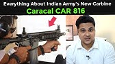 Caracal CAR816 A2 Rifle - YouTube