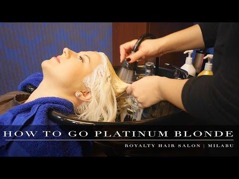HOW TO GET PLATINUM BLONDE HAIR | MILABU