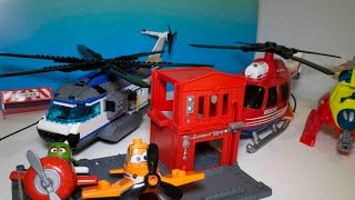 Mighty Machines Rescue Helicopters, Planes Rescue Tinker Bell
