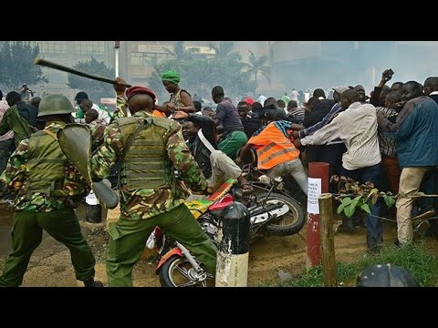 Day 4 of #Curfew in #Kenya #Nairobi