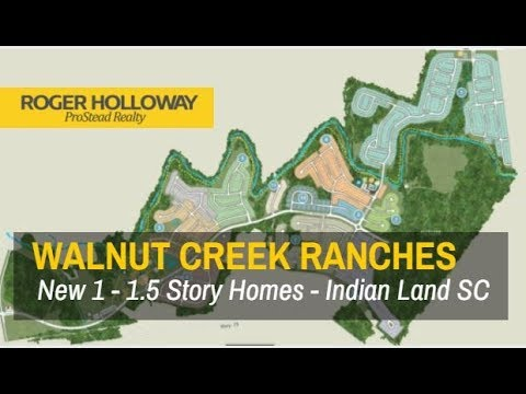 Walnut Creek New RANCH Homes for Sale - Indian Land SC