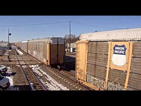 "TRAIN CAR SEPARATION  ""DRAFT GEAR FAILURE""  KEARNEY, NE"