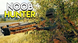 THE NOOB HUNTER! (Crossbow Only) - PlayerUnknown\'s Battlegrounds (PUBG)