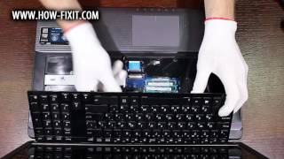 How to Wi-Fi card replacement on Asus K95 laptop