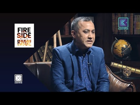 Bishwa Prakash Sharma (Spokesperson, Nepali Congress) - Fireside   11 June 2018