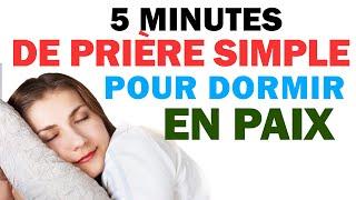 La prière simple pour dormir en paix